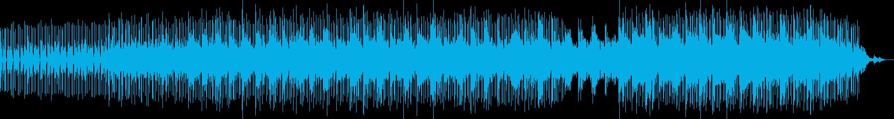 哀愁あるミディアムテンポのミニマルロックの再生済みの波形