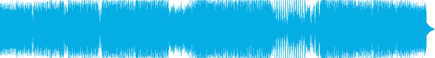 シンセとリズムエフェクトのグリッサンド。の再生済みの波形