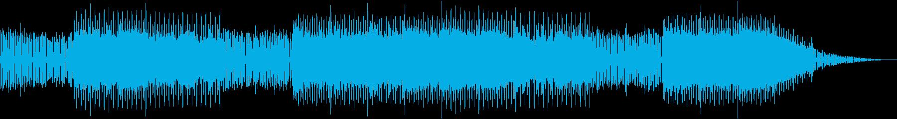 未来感を感じられるファンクの再生済みの波形