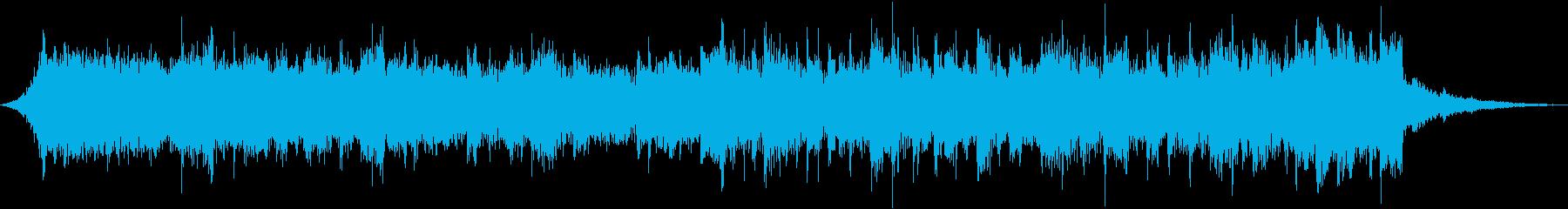ミステリアスサスペンスシリアスBGMeの再生済みの波形