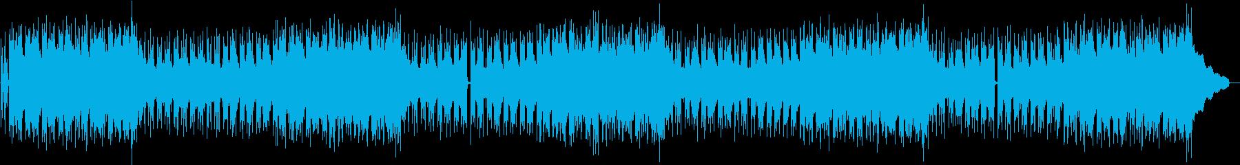 心地良いスローテンポのチルアウトの再生済みの波形