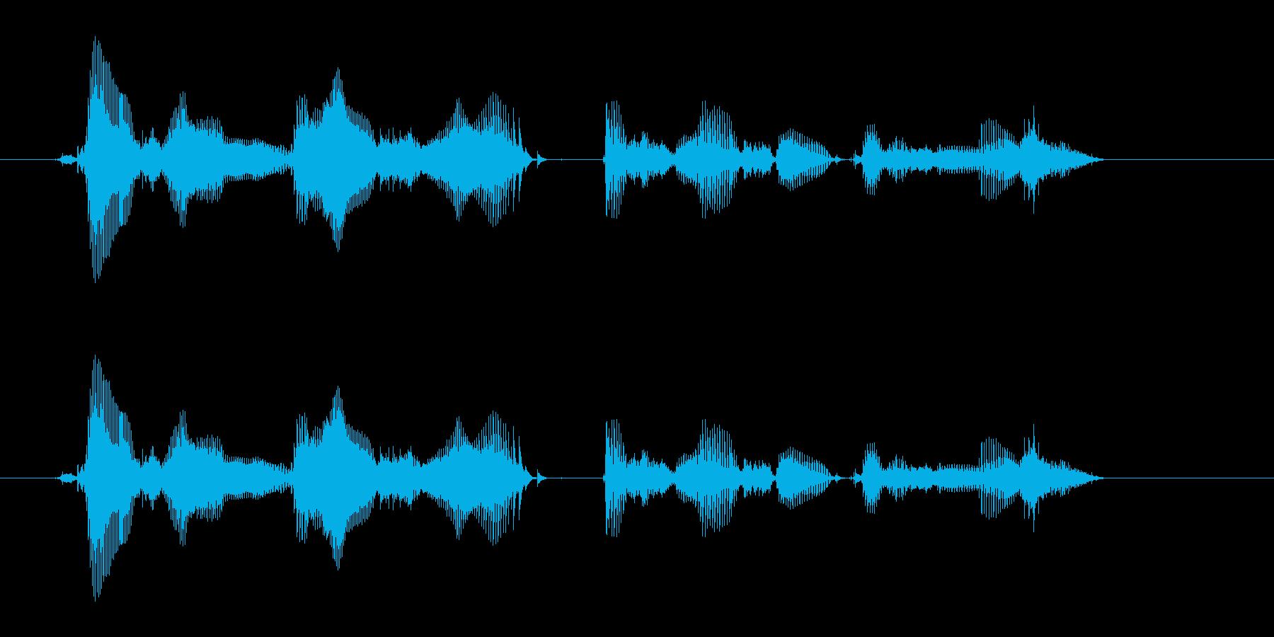 【時報・時間】午前0時を、お知らせいた…の再生済みの波形