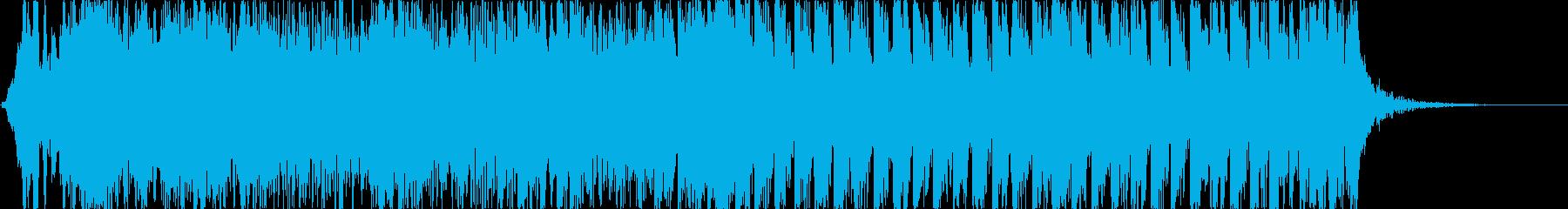 和風、ゲーム煽りBGM、大人用/掛声有りの再生済みの波形