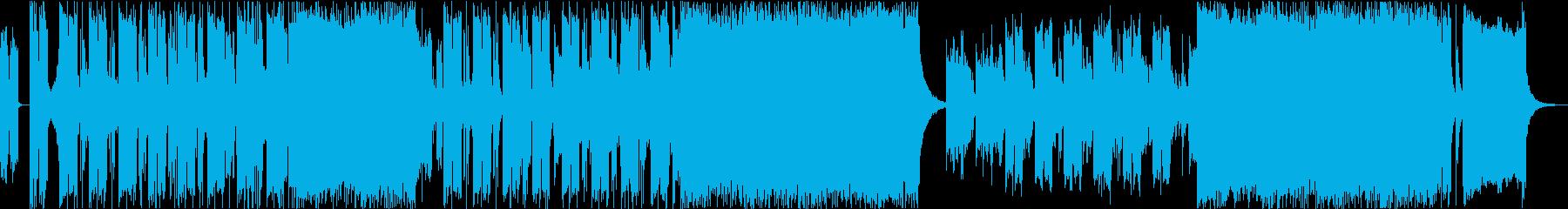 メタル 積極的 焦り 神経質 ワイ...の再生済みの波形