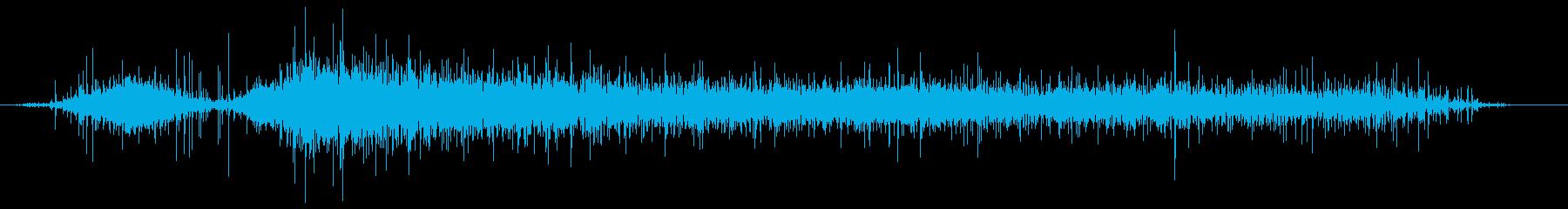 ホイールバローからのダンプグラーブ...の再生済みの波形
