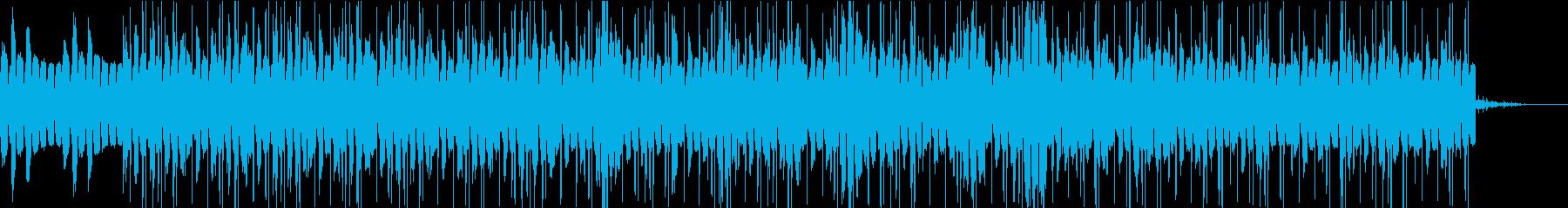 雨の日のChillMusicの再生済みの波形