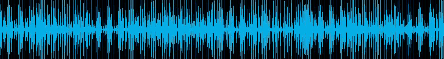 おしゃれでキャッチーなジャズピアノトリオの再生済みの波形