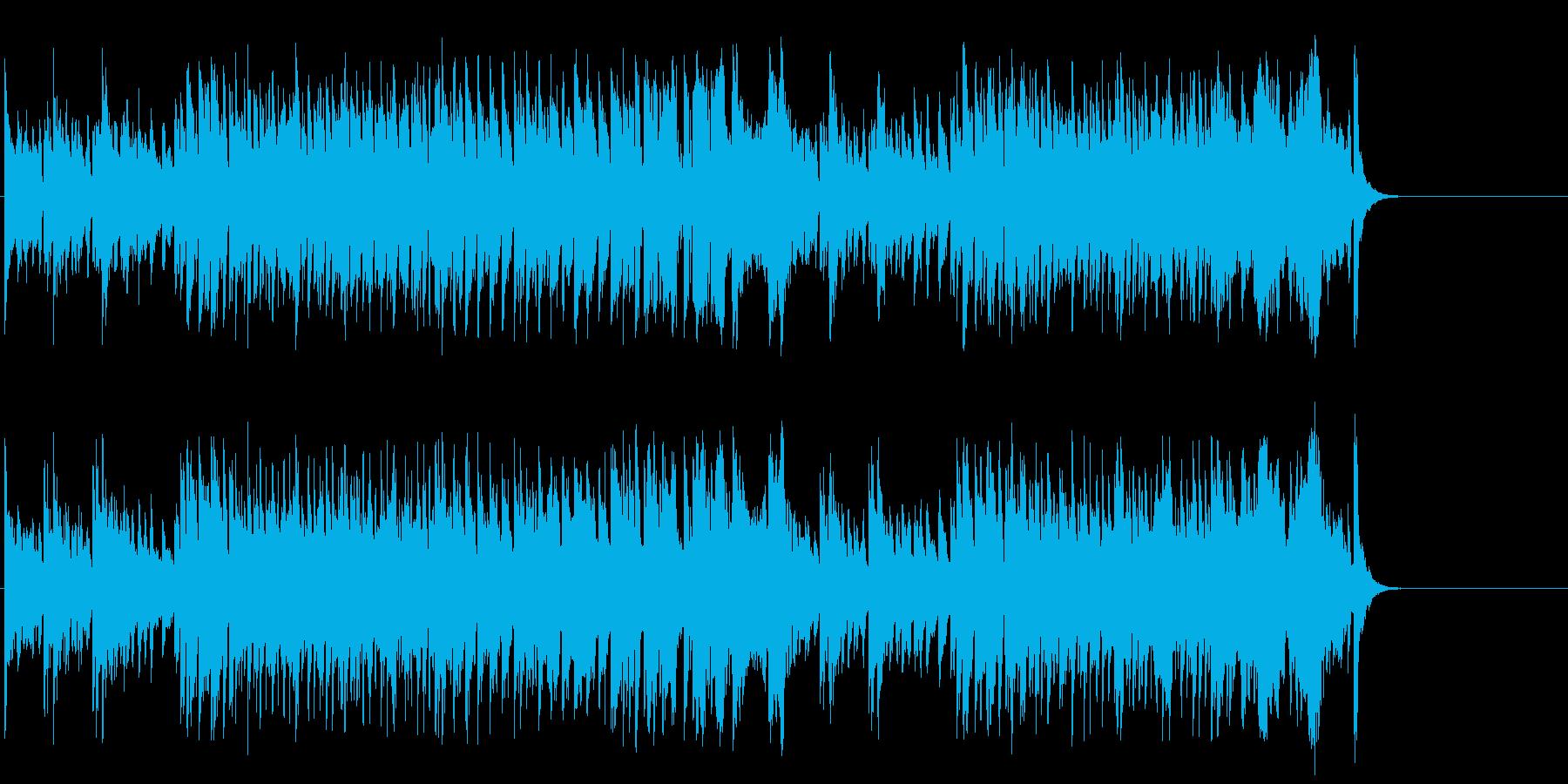 ペットたちのおちゃめなポップ/コミカルの再生済みの波形