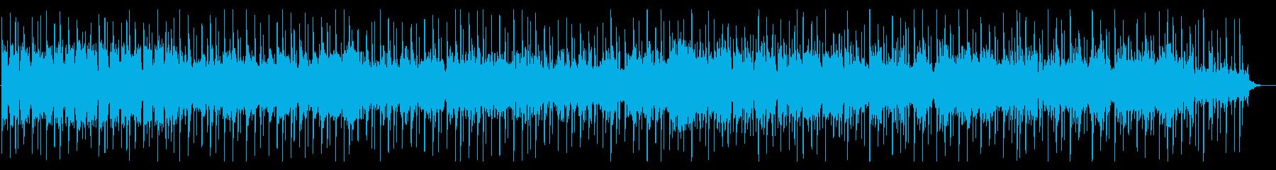 シンプル!シンセサイザーほのぼのとした曲の再生済みの波形