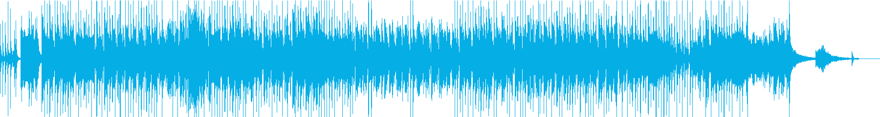 エレクトロニックファンクポップの再生済みの波形