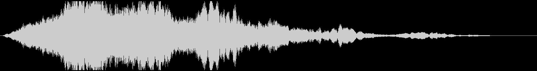 ドローン レゾネーター01の未再生の波形