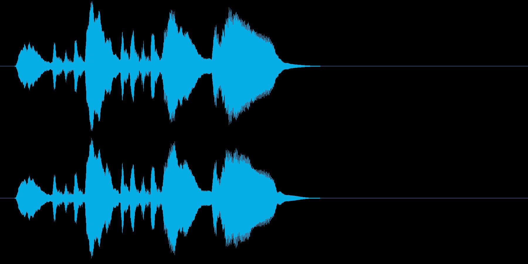 フレンチホーンビューグルコール;ラ...の再生済みの波形