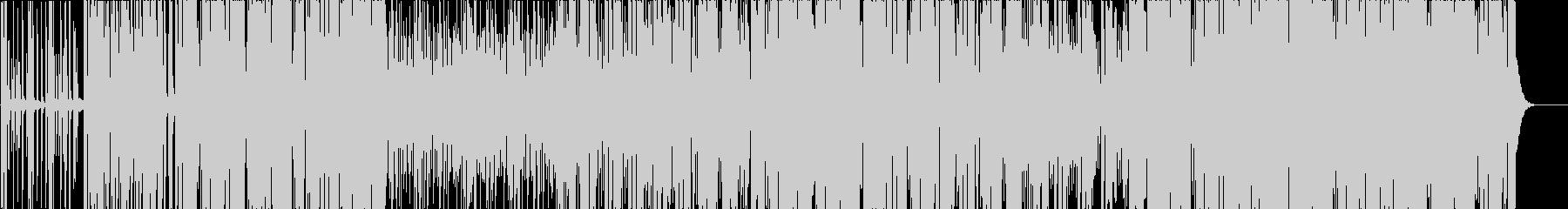 かわいい FutureBass EDMの未再生の波形