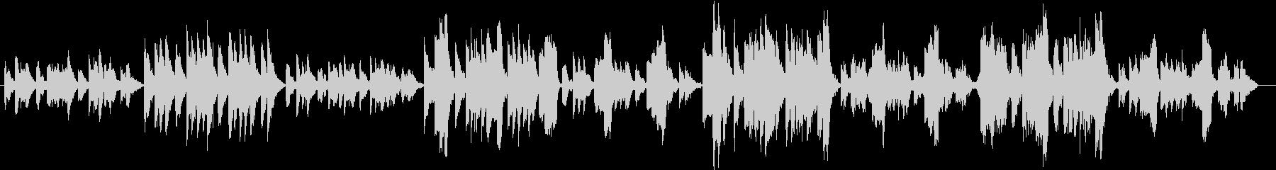 エリック・サティのヴェクサシオンの未再生の波形