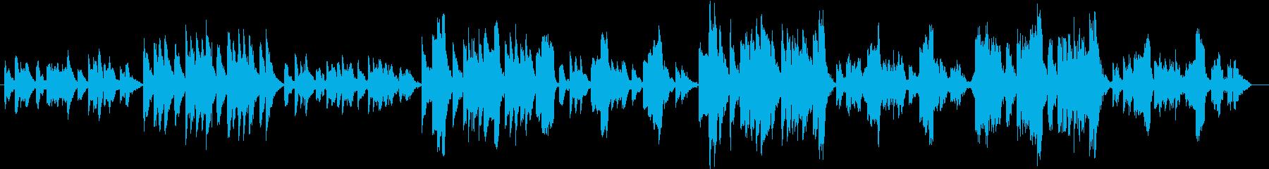 エリック・サティのヴェクサシオンの再生済みの波形