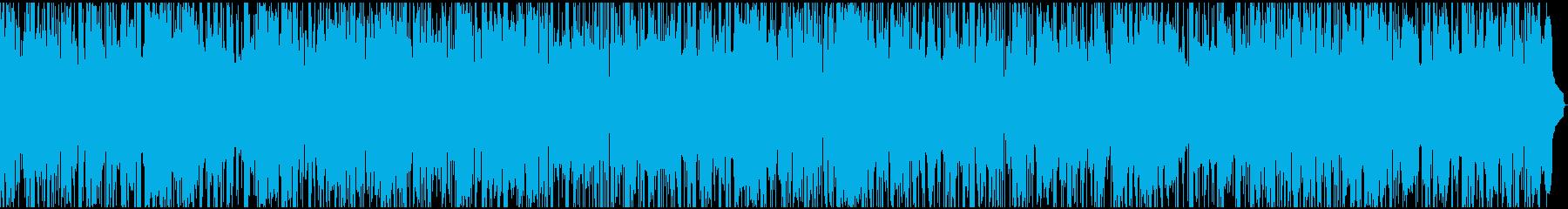 サックスの哀愁のある大人のBGMの再生済みの波形