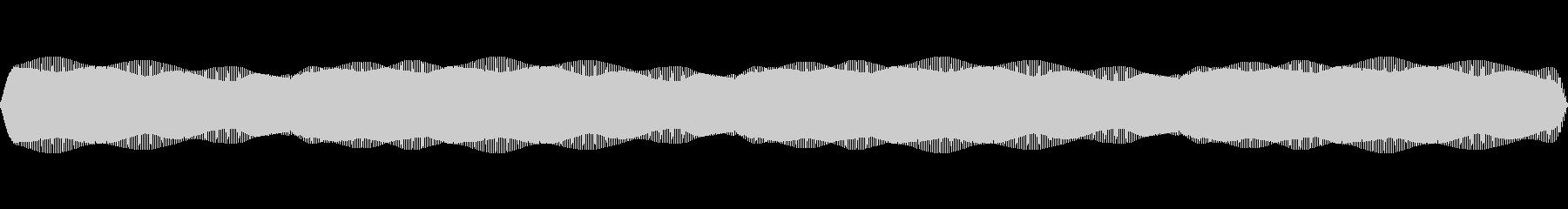 レーザー光グローハローの未再生の波形