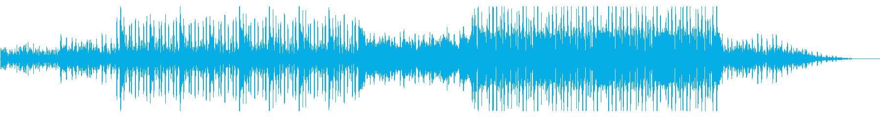 メランコリックな木琴テクスチャーの再生済みの波形