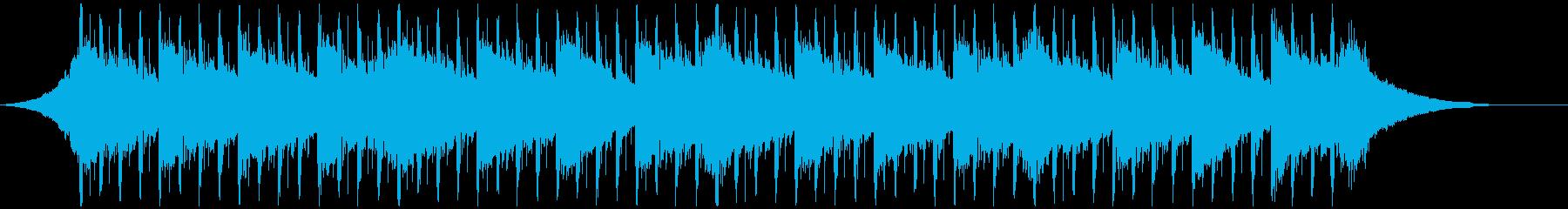 刺激的な戦略(45秒)の再生済みの波形