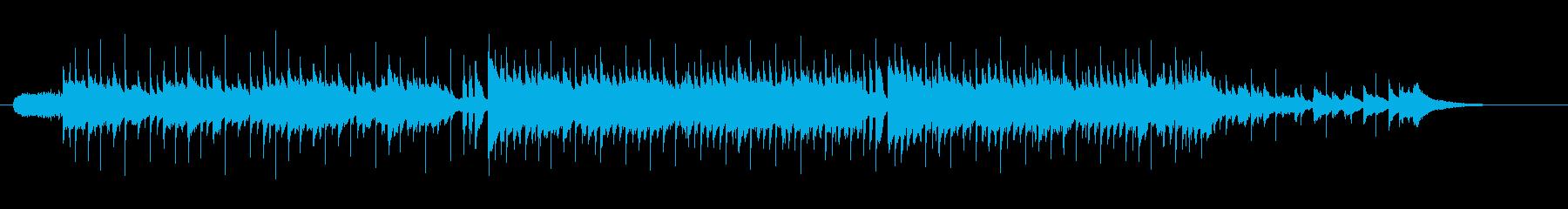 ニューミュージック系ミディアム・バラードの再生済みの波形