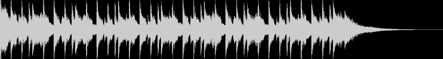 15秒CM可愛いウクレレ/子供/ほのぼのの未再生の波形