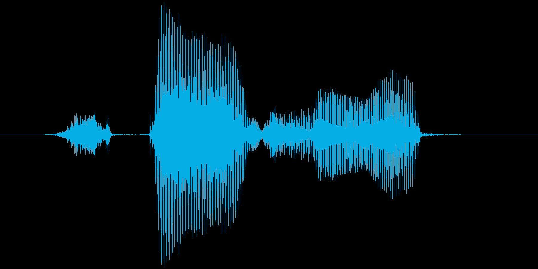 ステージ2(に)の再生済みの波形