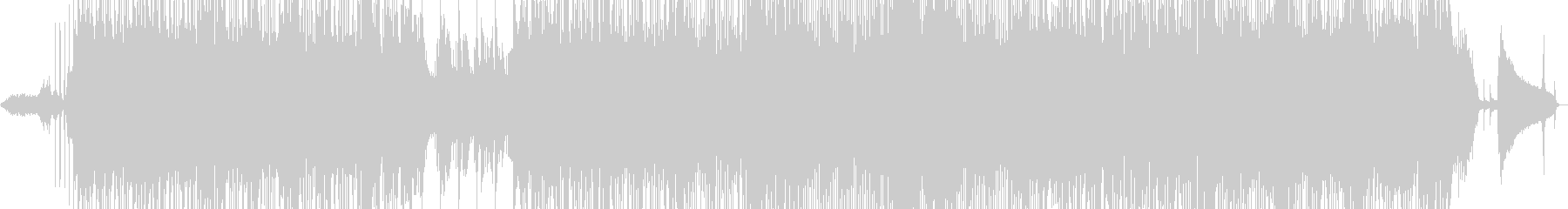 さわやかなサウンドのギターポップスの未再生の波形