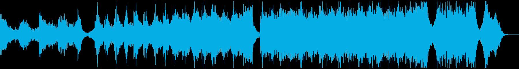 【予告編】トレーラー・ハリウッド・ダークの再生済みの波形