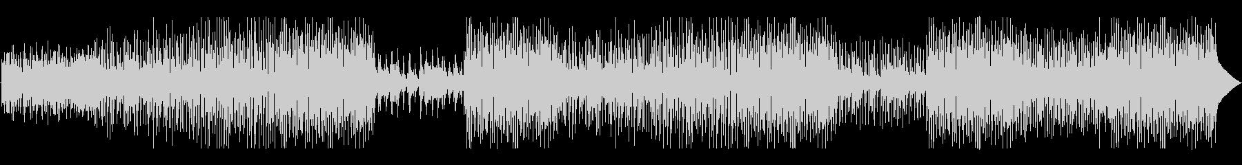 モダンなグルーヴに伝統的なジャズの...の未再生の波形