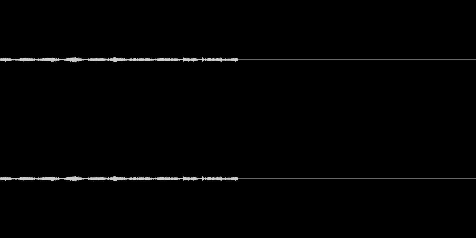 サラサラ(書く音)2の未再生の波形