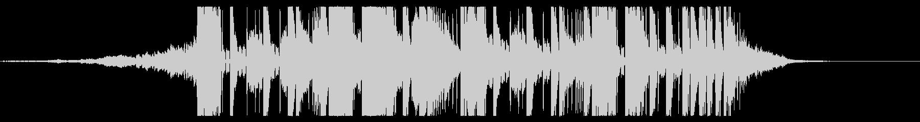 ホラー系EDMダブステップジングル04の未再生の波形