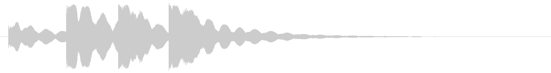 ハンドベル2;小さなハンドベル、中...の未再生の波形
