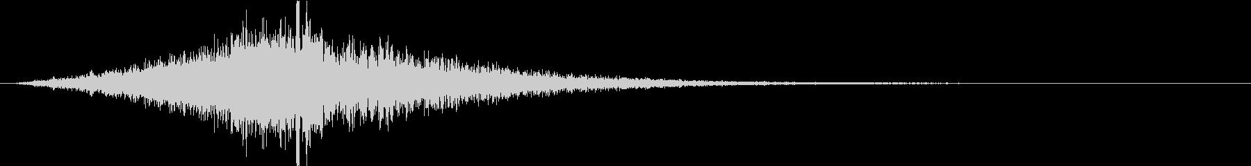 インパクト②(重低音・映画・トレーラー)の未再生の波形