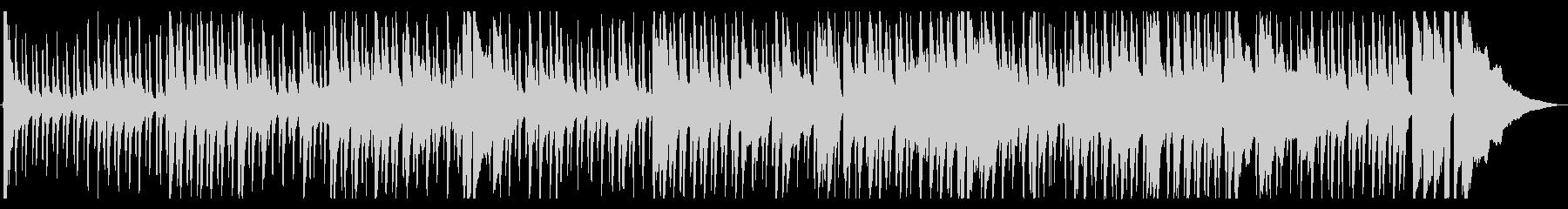 アコースティックギターによる古いブルースの未再生の波形