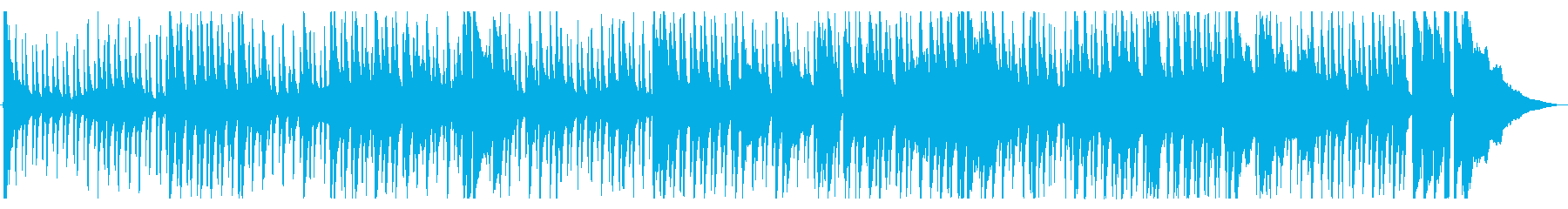 アコースティックギターによる古いブルースの再生済みの波形