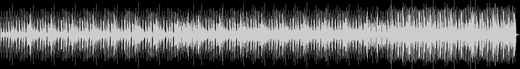 クールな雰囲気のエレクトロニックファンクの未再生の波形