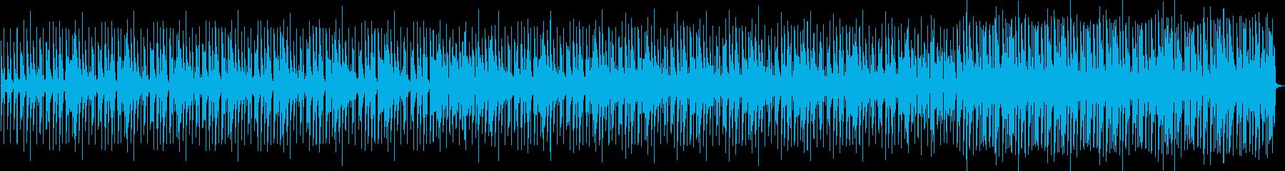 クールな雰囲気のエレクトロニックファンクの再生済みの波形