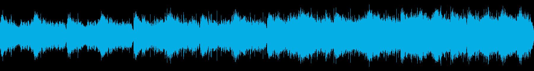 キャロル・オブ・ザ・ベルのホラーアレンジの再生済みの波形