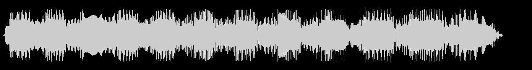 ピロロロロ、という怪しげな電子音の未再生の波形