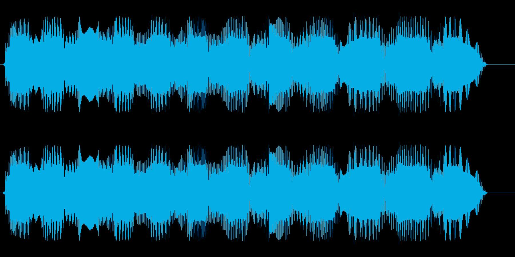 ピロロロロ、という怪しげな電子音の再生済みの波形