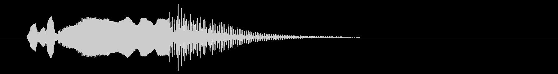 和風、尺八タラララ~ドドンの未再生の波形
