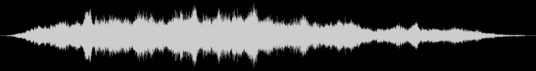 オーケストラ:チューニングの未再生の波形