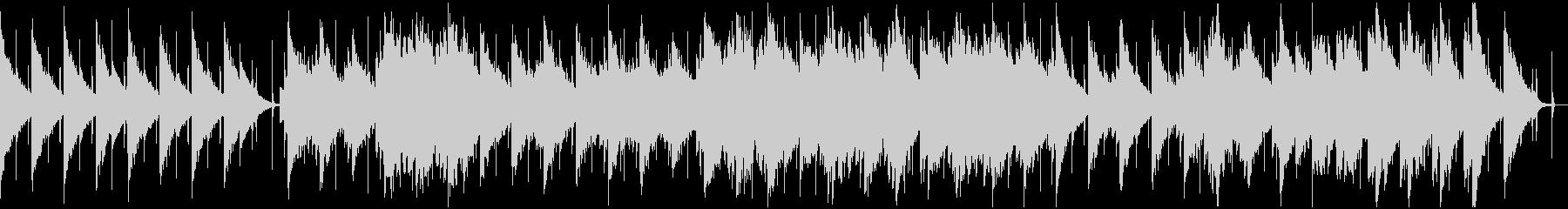 ループ仕様 静かな雰囲気のBGMの未再生の波形