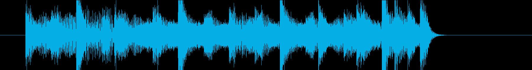 ジングル(ポップ11)の再生済みの波形