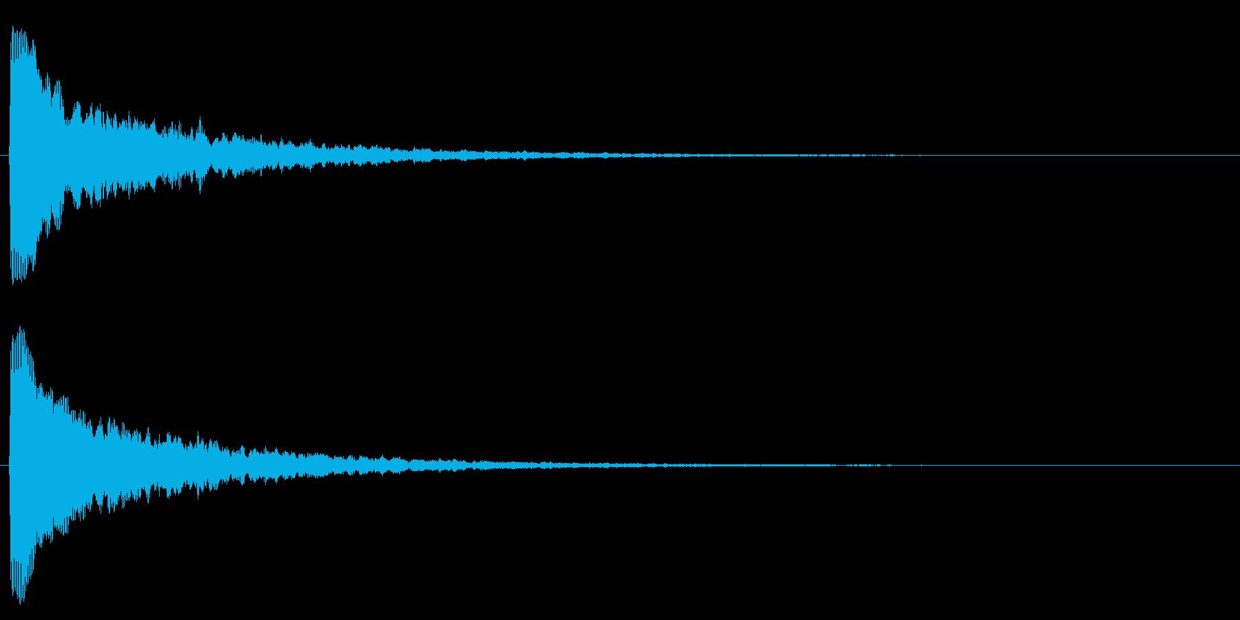 ベル/決定/綺麗の再生済みの波形