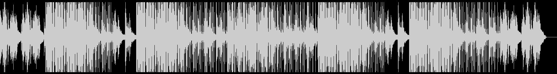 【Jazzy HipHop】BGMの未再生の波形