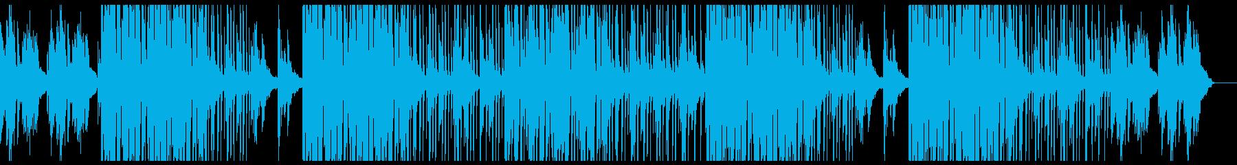 【Jazzy HipHop】BGMの再生済みの波形