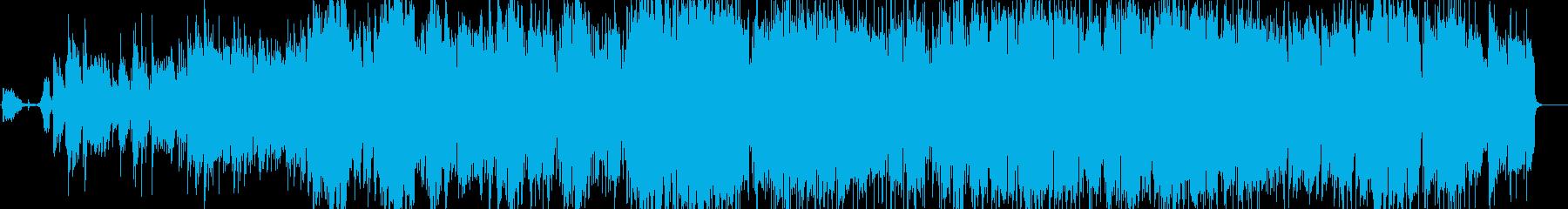 ピアノとストリングスが印象的なバラードの再生済みの波形