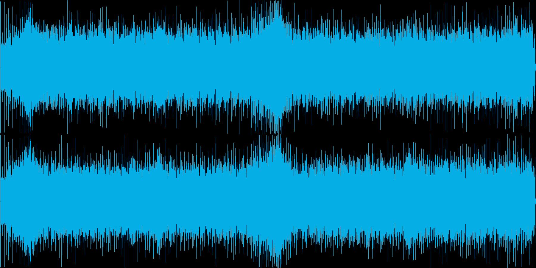 Tranceで作ってみました!夏の朝か…の再生済みの波形