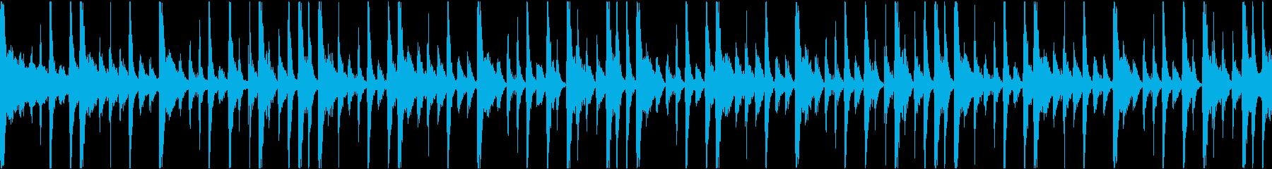 クールで知的なブレイクビーツBGMの再生済みの波形